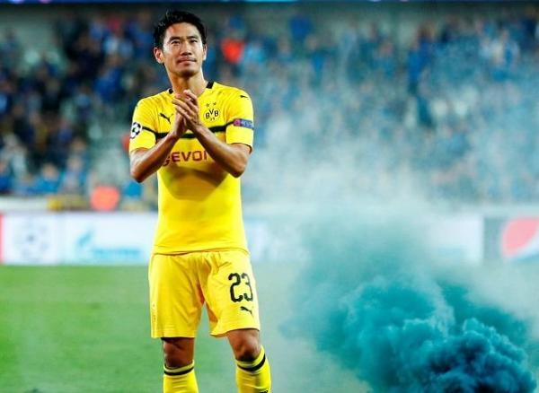 Kagawa vs Club Brugge 1_0