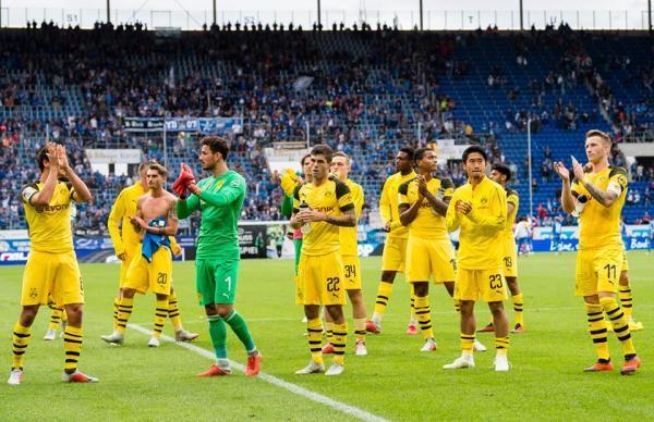 1899 Hoffenheim 1 - 1 Borussia Dortmund 2018