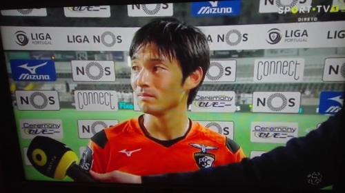 Shoya Nakajima nomeado Homem do Jogo