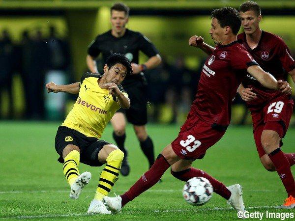 Dortmund 7-0 Nürnberg 2018