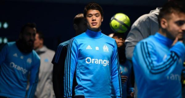 Marseille goal [3]-2 Strasbourg Germain Sakai Hiroki assist