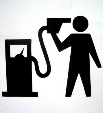ガソリンスタンド 看板 マーク