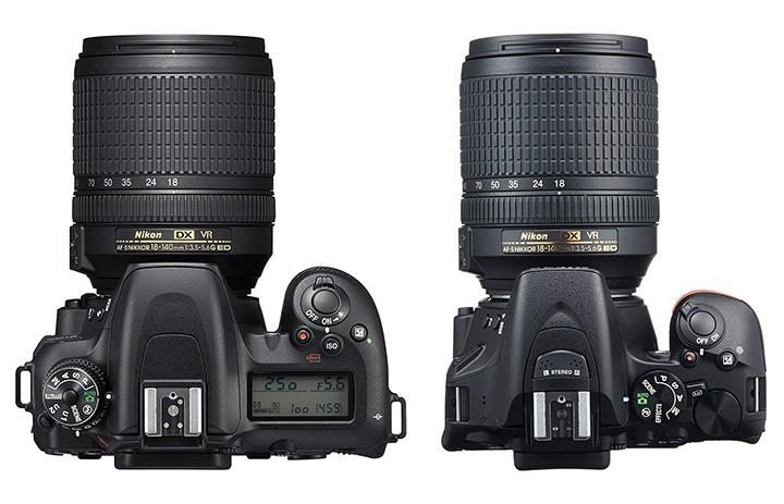 ニコン D7500 D5500