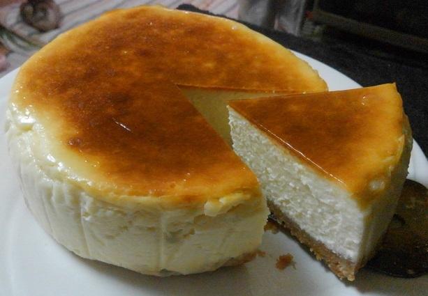 ベイクドチーズケーキ20180713-1
