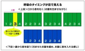 腹筋呼吸法1-1
