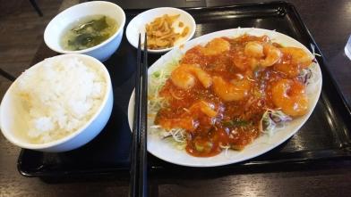 Foods___ランチ___エビチリ定食001