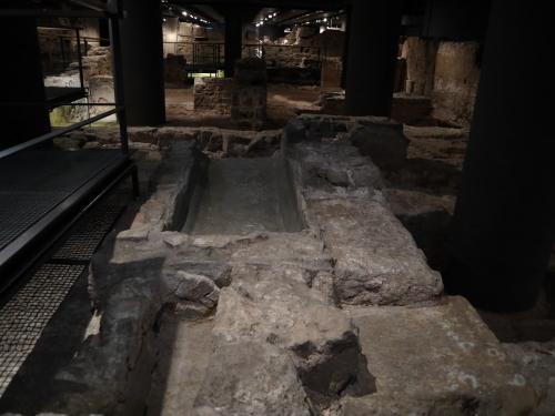 バルセロナ地下遺跡