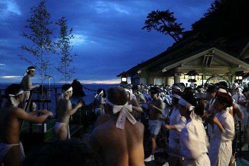興玉神社神事0