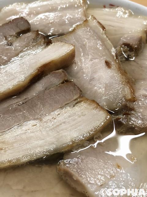 坂内食堂 肉そばチャーシューアップ