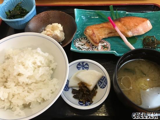 塩引き鮭定食