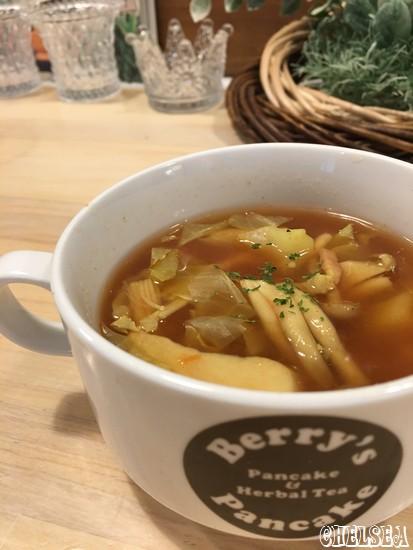Berry's Pancake_スープ