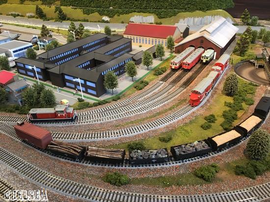ジオラマ鉄道模型ステーション