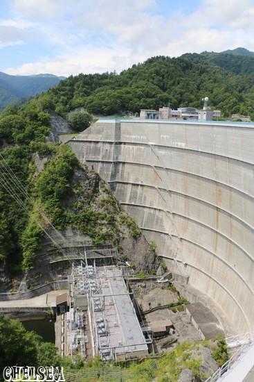 東京電力運用の矢木沢発電所