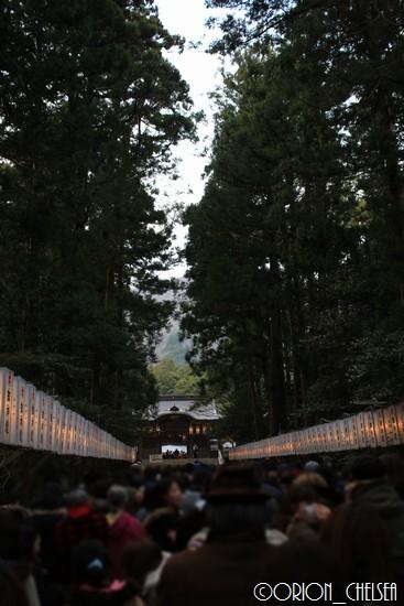 彌彦神社随神門