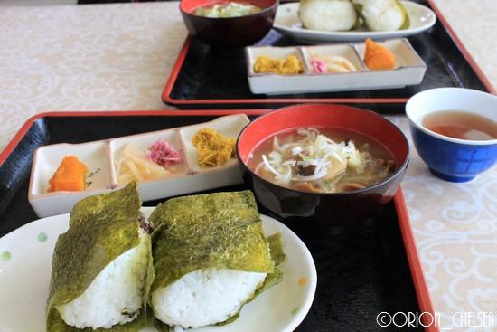レストラン銘森_おむすびセット