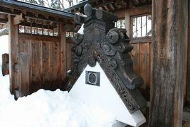 栃尾城周辺にて