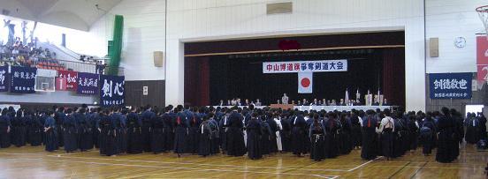 剣道大会にて