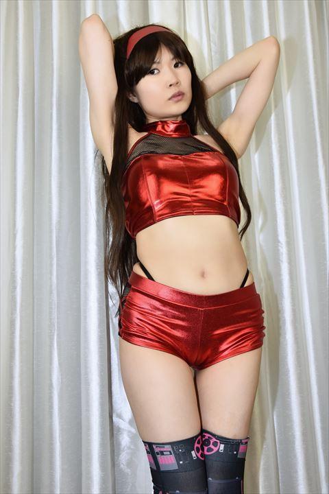 メタリック素材 ダンス衣装 うしじまいい肉 ニーハイ 10