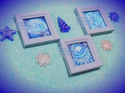 『水海月』・『砂色海月』・『義山海月』
