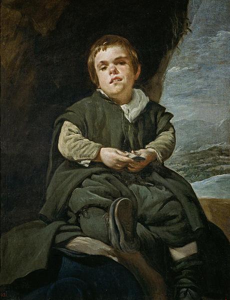 460px-Velázquez_-_Francisco_Lezcano,_el_Niño_de_Vallecas_(Museo_del_Prado,_1643-45)