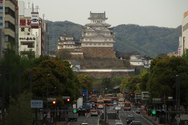 最後に姫路城