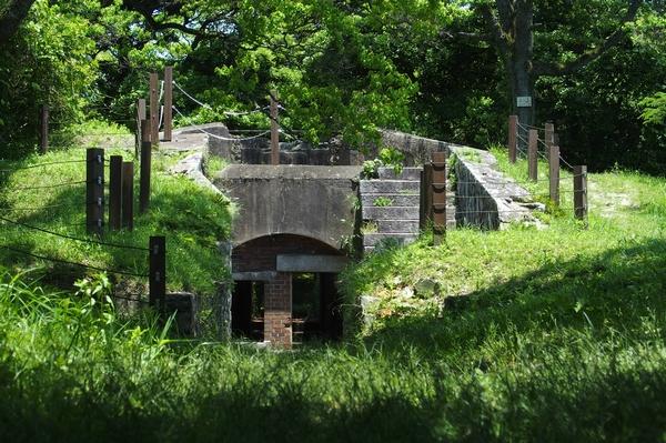 火の山砲台跡