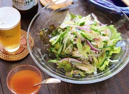 きゅうりとささみのサラダ