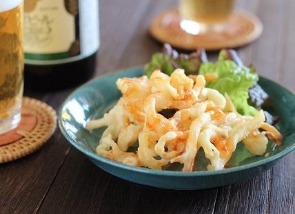 さきいか天ぷらチリ1
