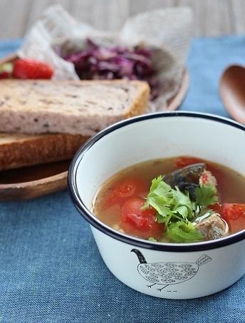 鯖スープ2