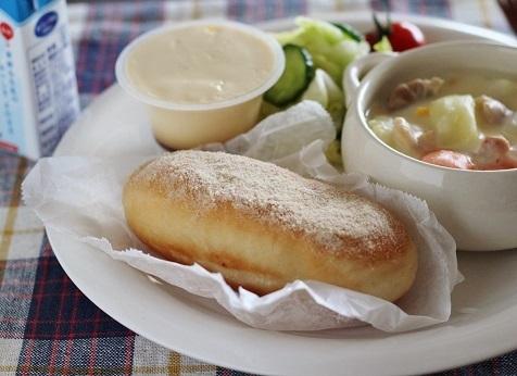 揚げパン給食風4