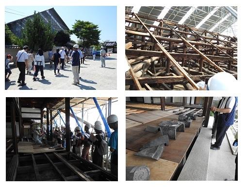 達磨寺方丈修復工事