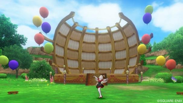 プクレット村風船