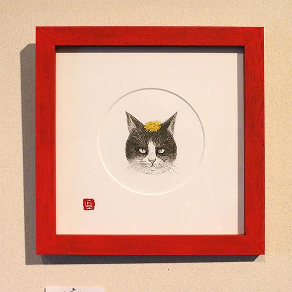 大田区 池上 パンタレイ panta rhei ギャラリー 猫 ねこ なかの真実 mamimals 原画
