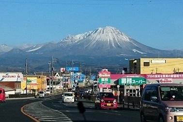 3月の大山