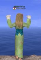 緑の浴衣2