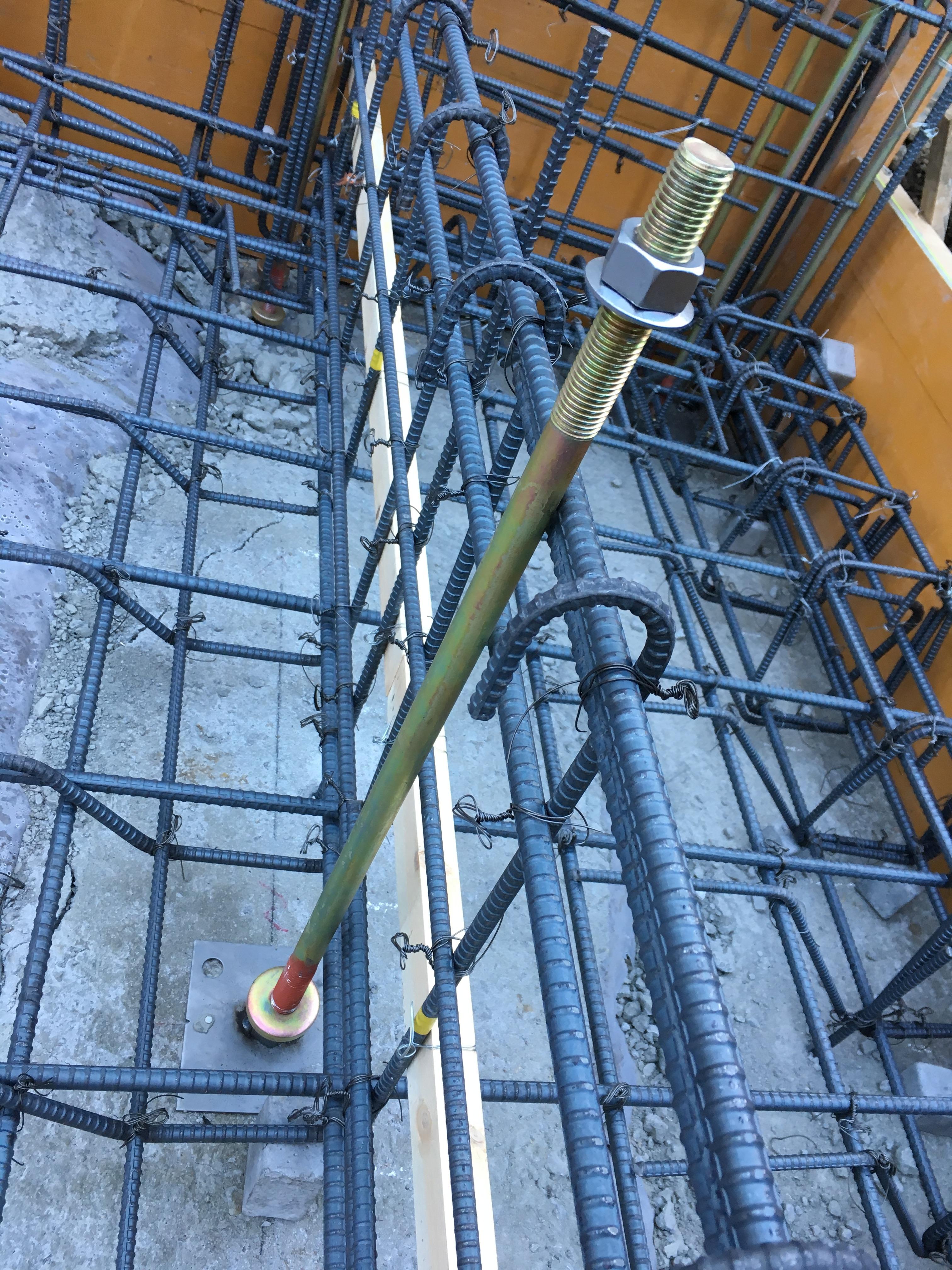 基礎コンクリート鉄筋1