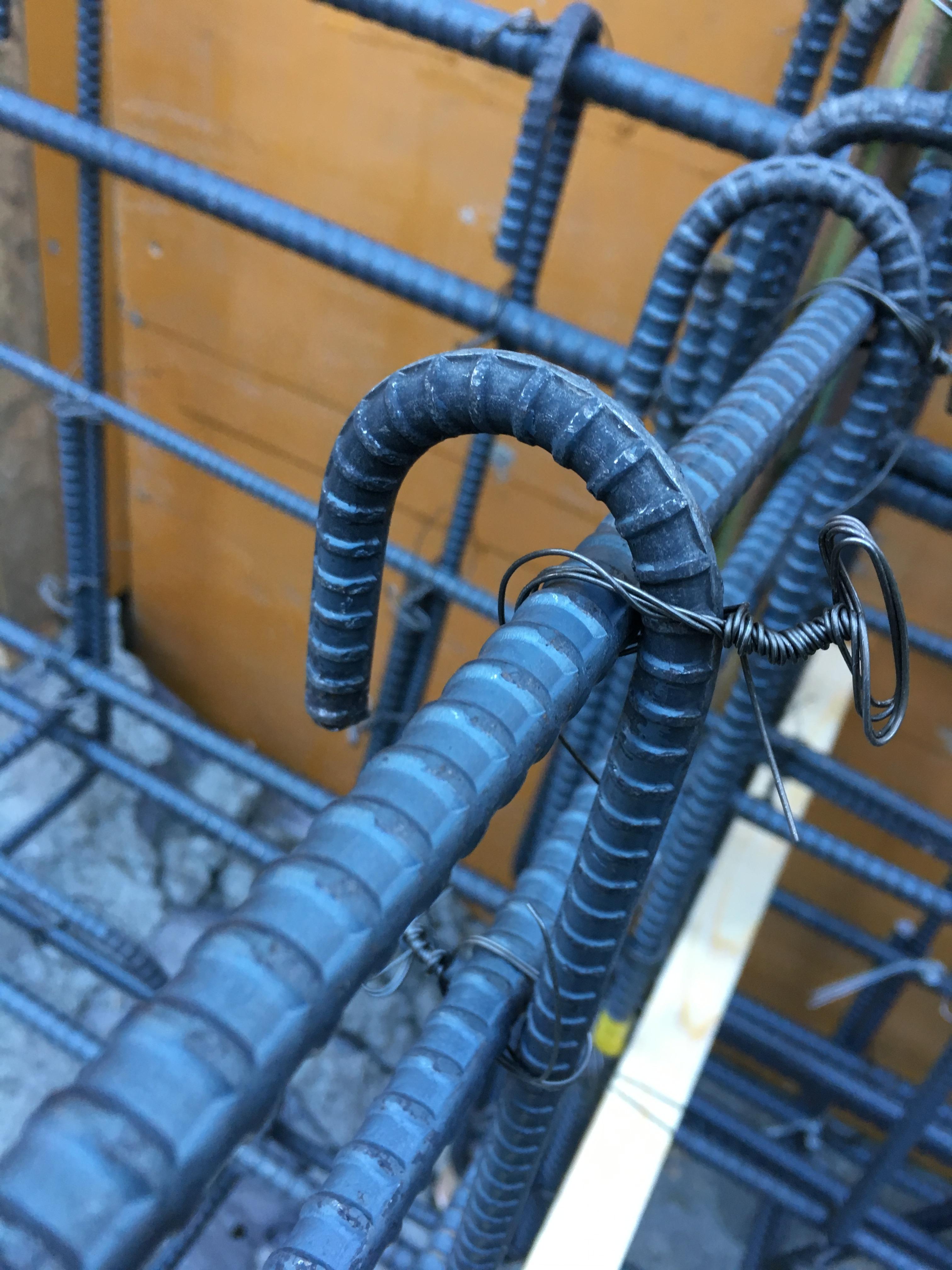 基礎コンクリート鉄筋2