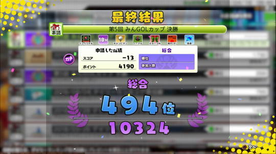Newみんゴルをプレー第53回 (13)