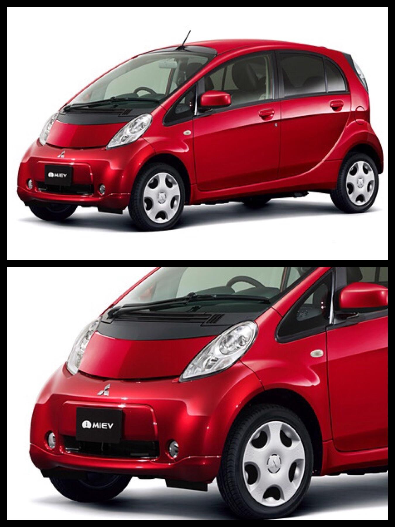 三菱 改良 新型「i-MiEV(アイ・ミーブ)」登録車