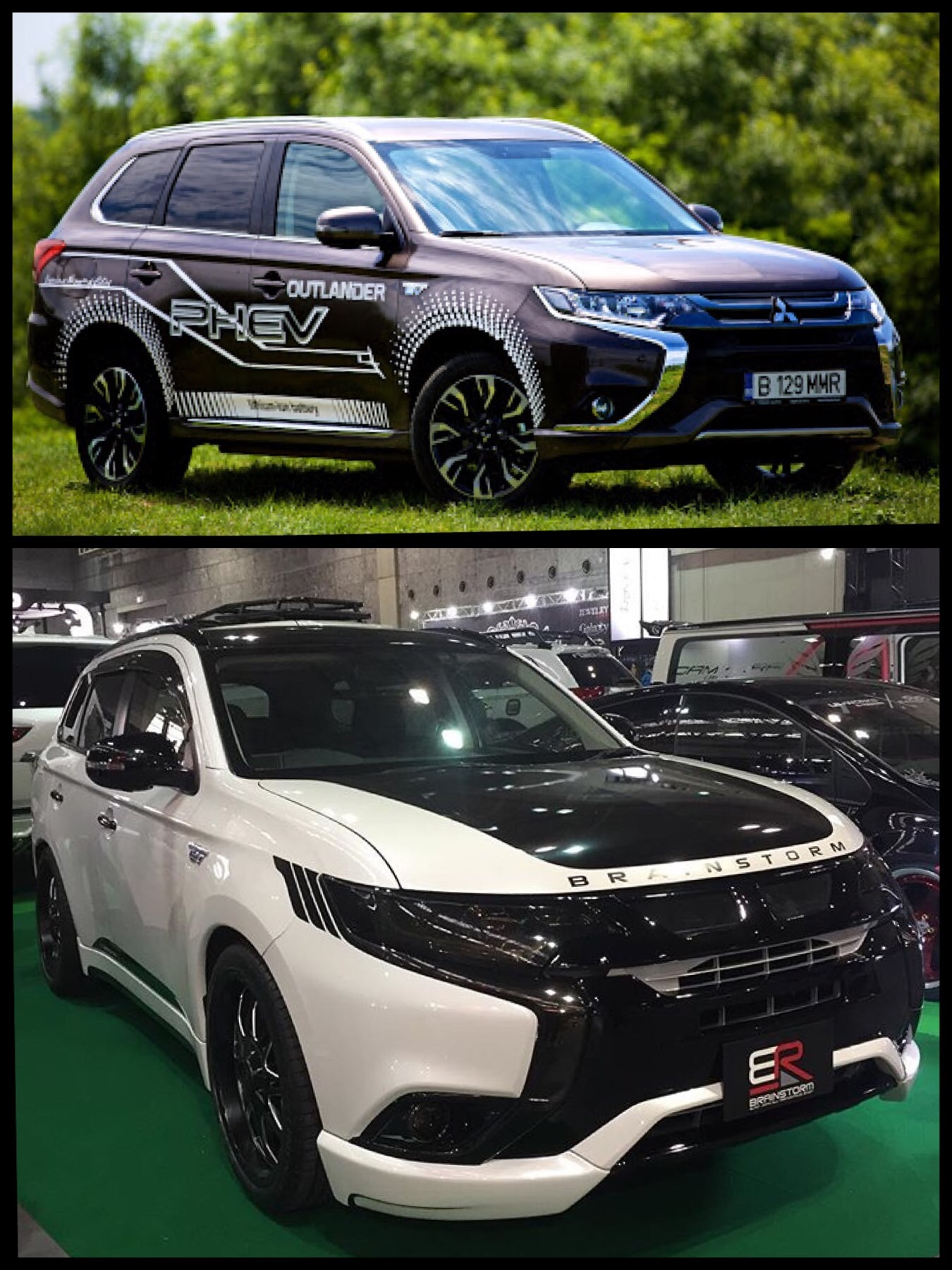 世界のアウトランダーPHEV global Mitsubishi Outlander phev