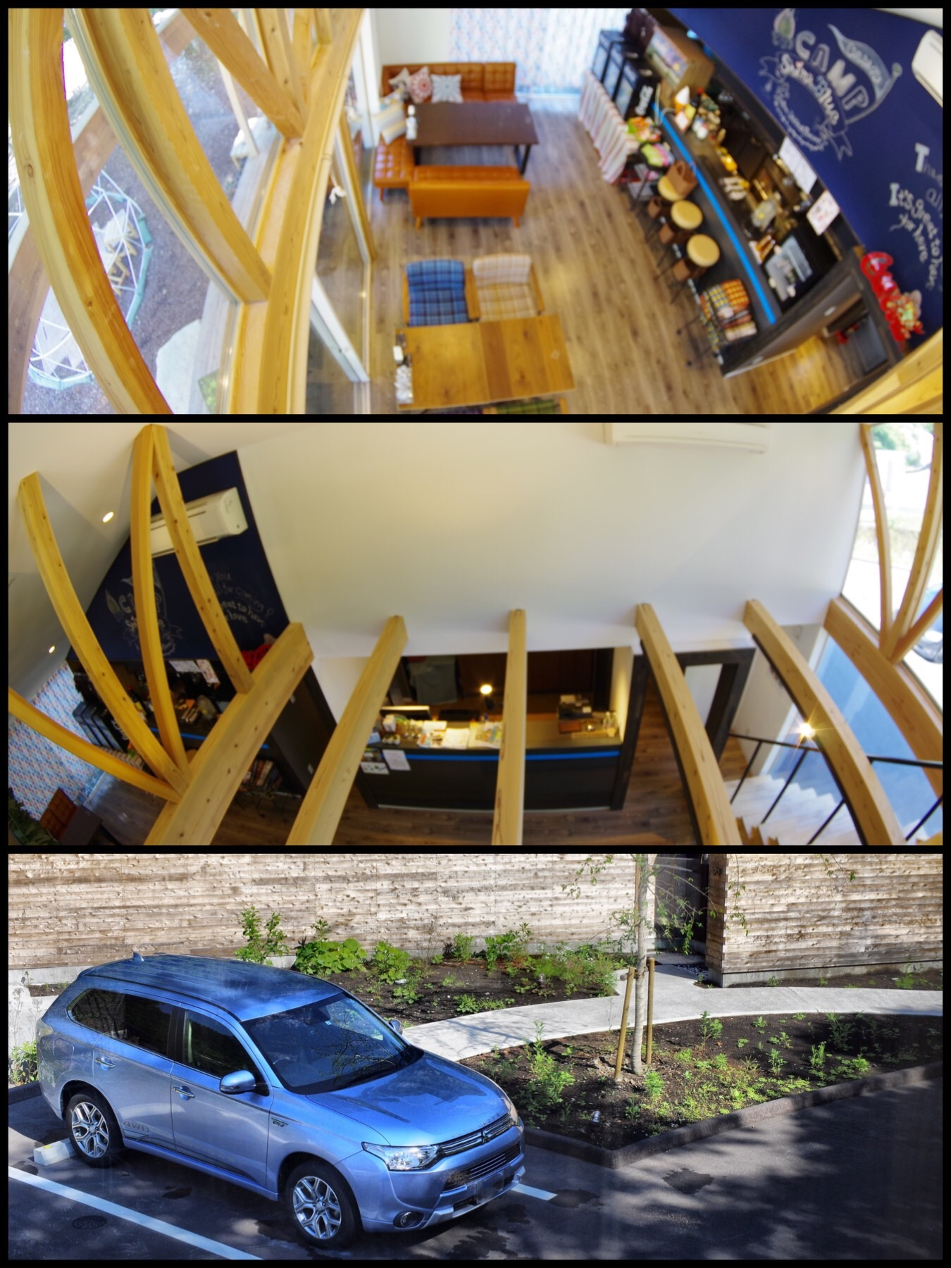 四万温泉 Shima blue 宿泊記 シマブルー グランピング シマブルーカフェ
