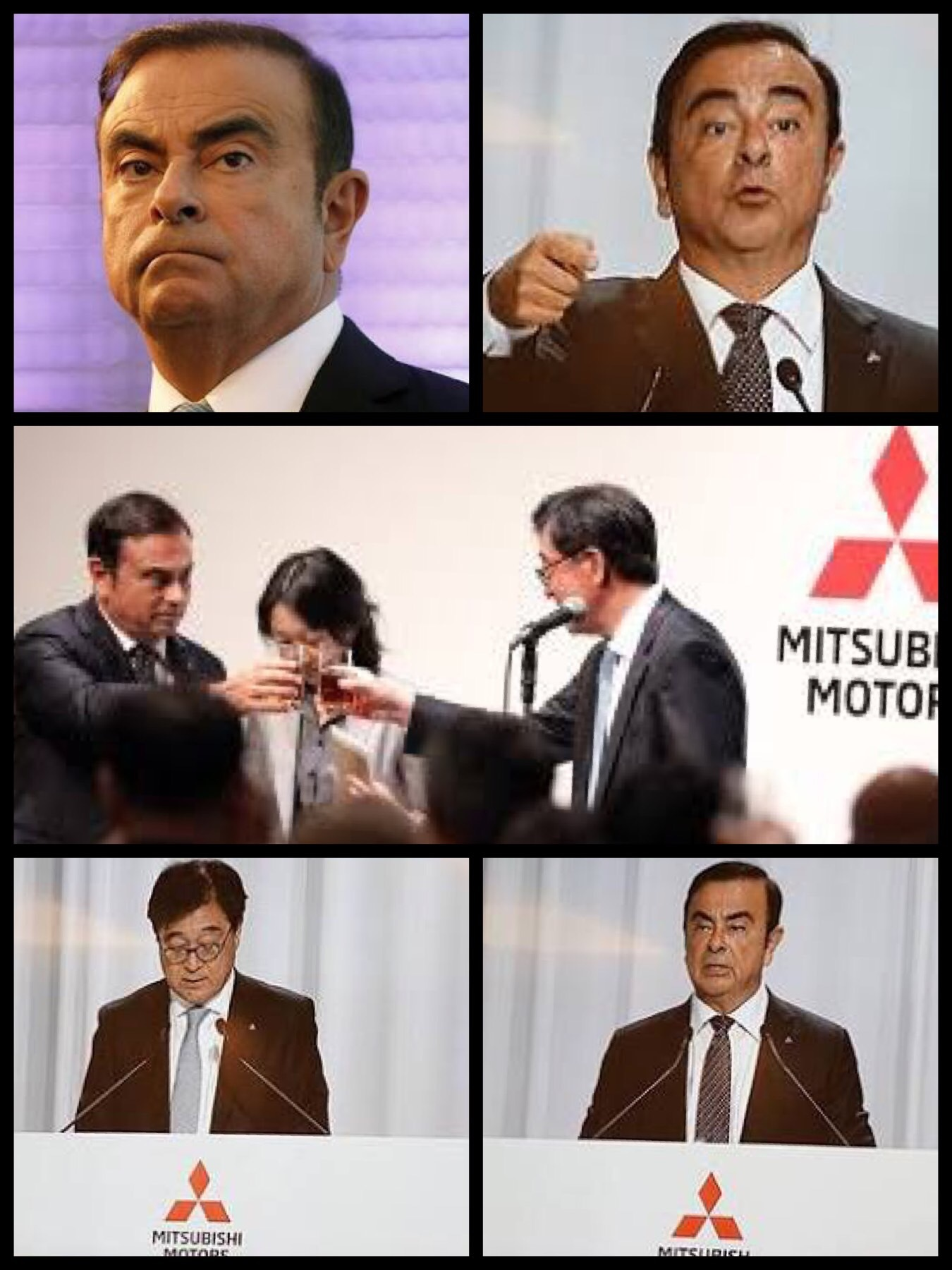 カルロスゴーン氏 日産三菱のルノー子会社化否定