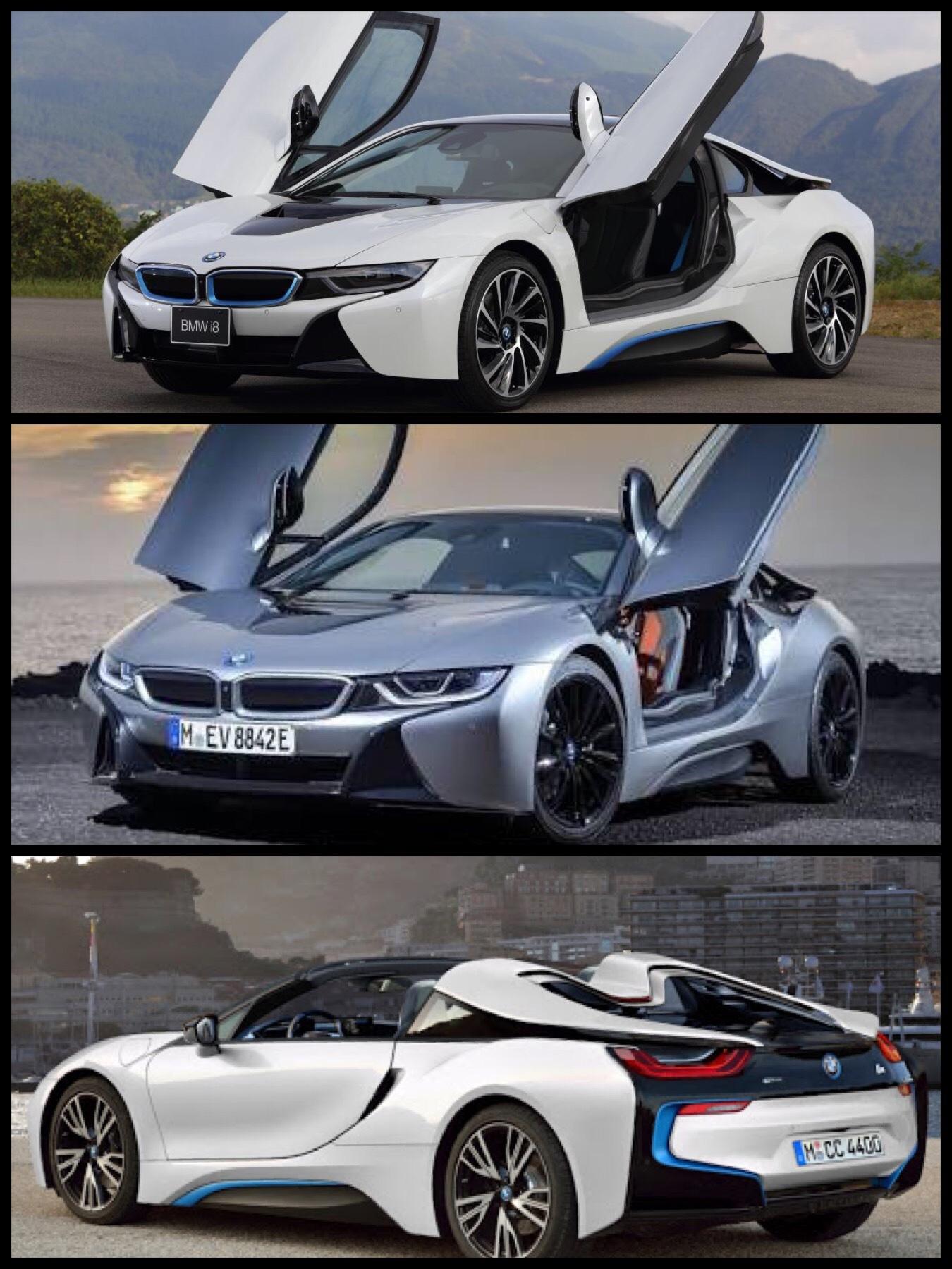 BMW i8 クーペ ロードスター PHEV