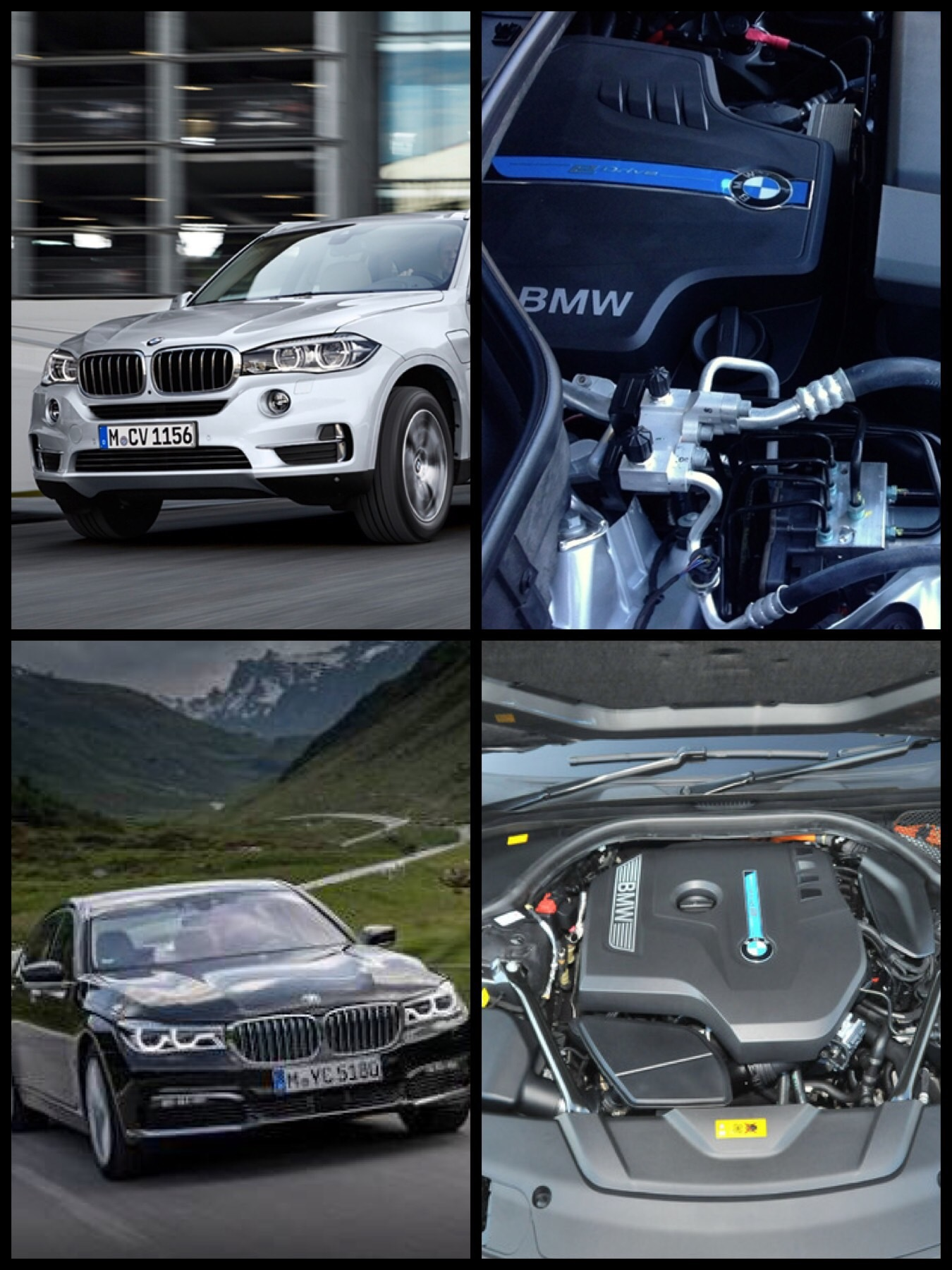 BMW 740e iパフォーマンス・X5 xDrive40e