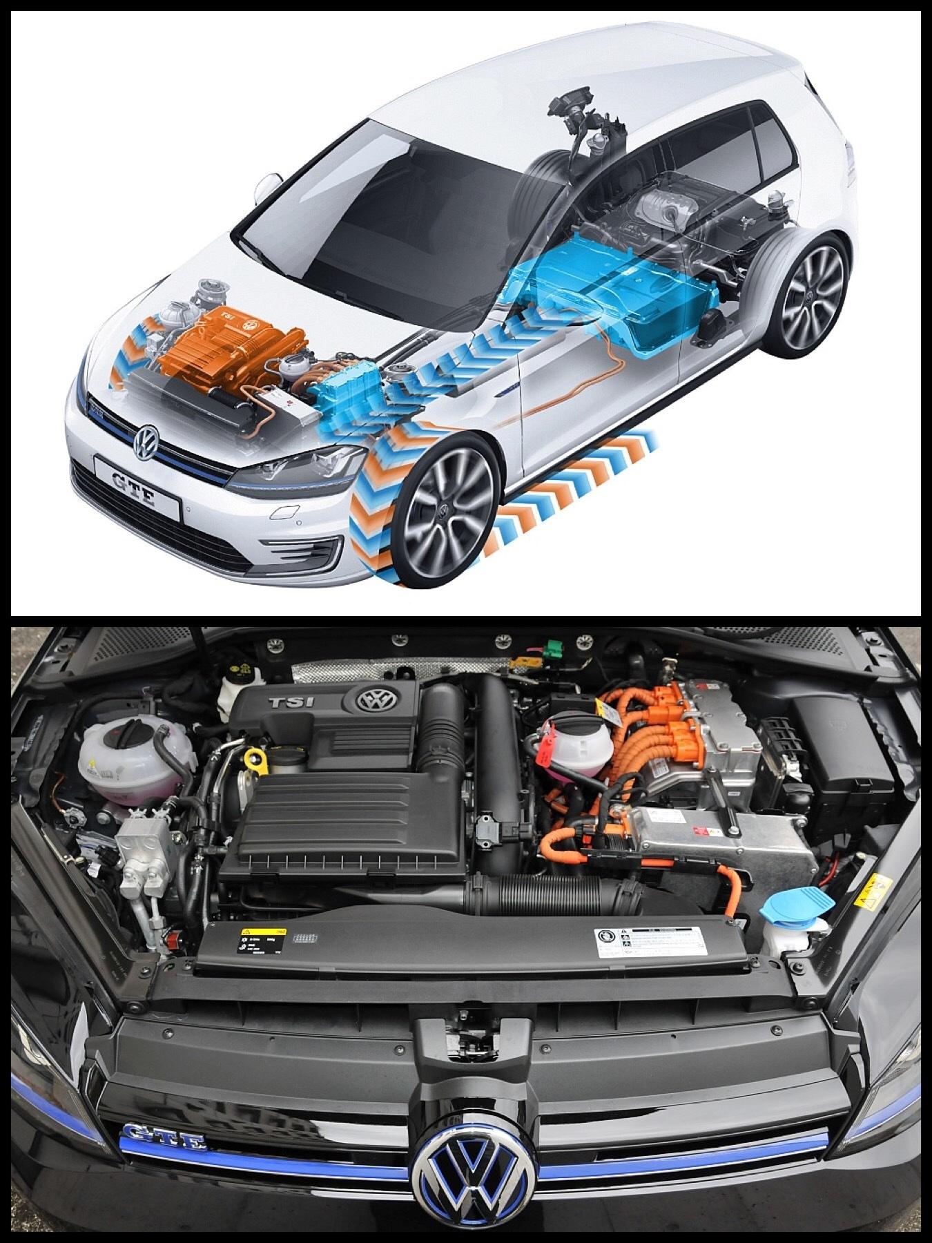 VW Golf ゴルフ PHEV パワートレイン