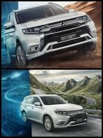三菱新型アウトランダーPHEV 2019モデル Mitsubishi Outlander phev 2019 euro uk