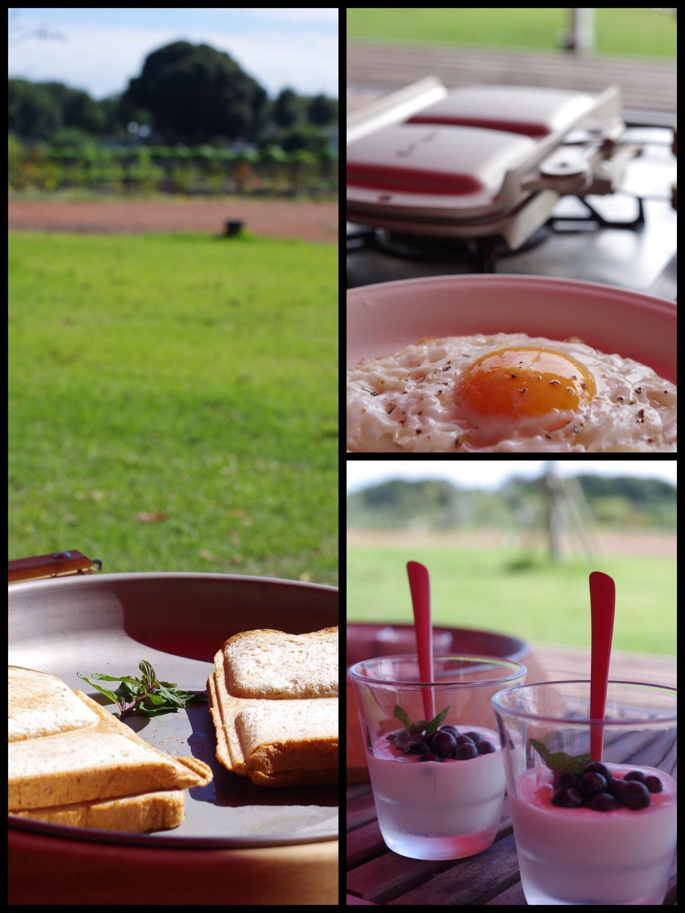 なめがたファーマーズヴィレッジグランピング 朝食
