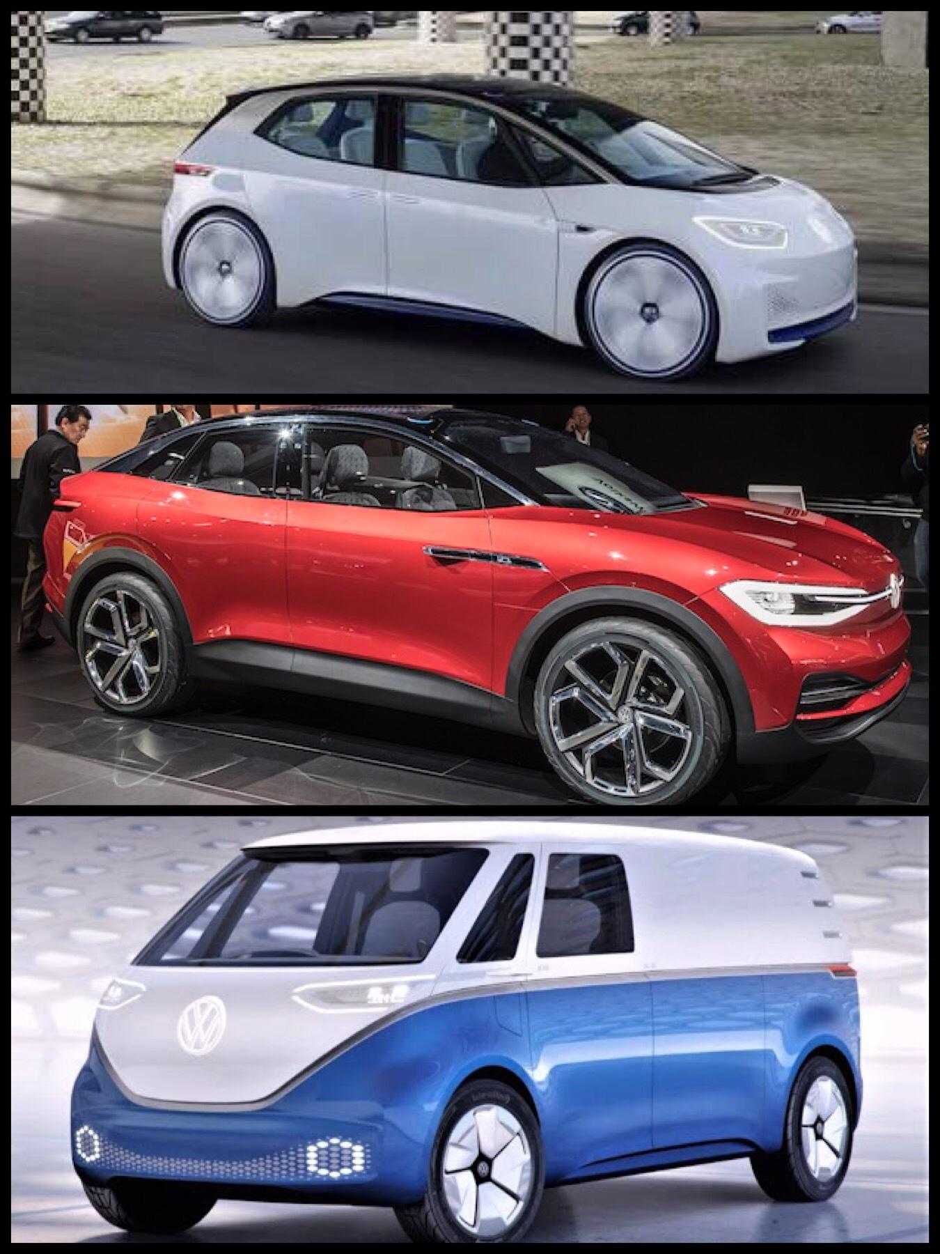 VW 「l.D」3兄弟