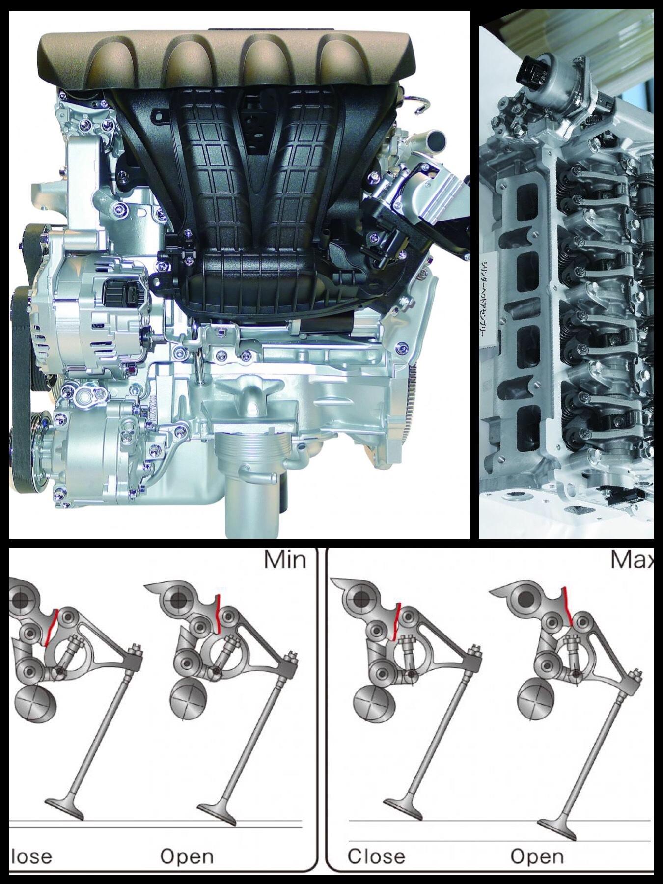 三菱 SOHC MIVEC エンジン