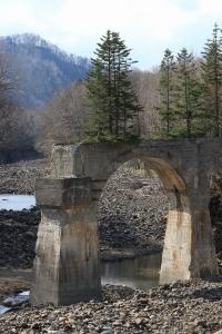第四音更川橋梁にて